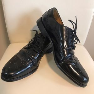 Cole Haan Black Leather Dress Shoes